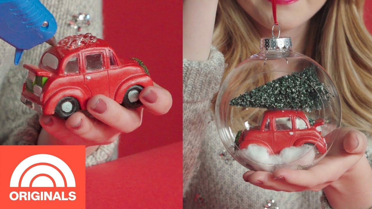 3 DIY Christmas Ornaments Under $20   Change For $20   TODAY ORIGINALS
