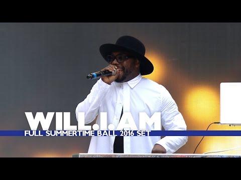 Will.i.am - Full Summertime Ball 2016 Set!