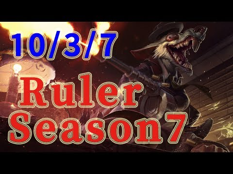 SSG Ruler Twitch ADC vs Tristana Patch 7.14