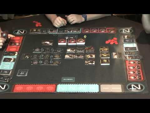 XenoShyft Onslaught Gameplay Featuring Tom Vasel, Rodney Smith, and Steve Avery