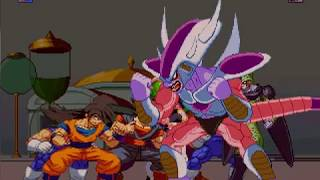 Video Mugen 4v4 Dragon Ball Z Battle Royal download MP3, 3GP, MP4, WEBM, AVI, FLV November 2018