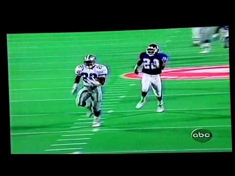 1995 Dallas@NYGiants Emmitt Smith 60yd TD MNF