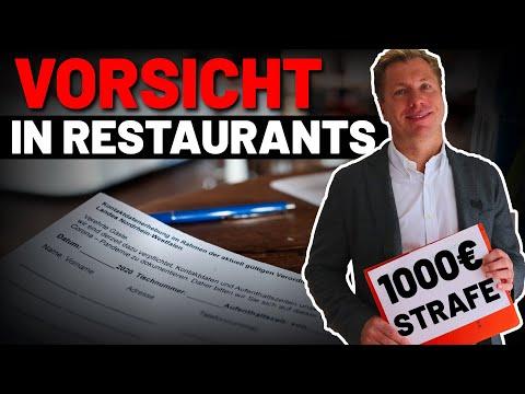1000€ Strafe für falsche Namensangaben in Restaurants: Ist das umsetzbar?
