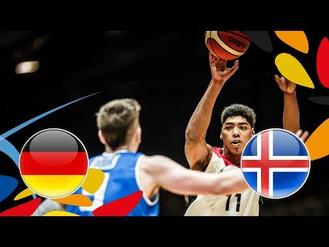 Germany v Iceland - Full Game - Round of 16 - FIBA U20 European Championship 2018