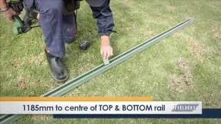 Fielders Diy Installation Guide - Slat Fencing