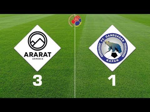 Ararat-Armenia - Gandzasar 3:1, Armenian Premier League 2019/20, Week 02