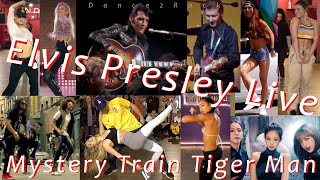 Elvis Presley Live (Mystery Train - Tiger Man) Extended Remix (Shuffle & Hip-Hop) Dance2Rock Tribute