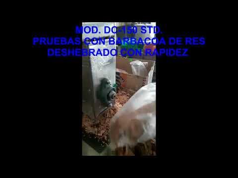 DESHEBRADORA DE CARNE VARIAS PRUEBAS
