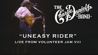 The Charlie Daniels Band - Uneasy Rider (Live) Volunteer Jam VIII