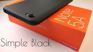 Xiaomi Redmi Note 5A чехол. Защита экрана в комплекте!
