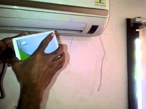Installation of MEGA Energy Saver for Air Conditioner II