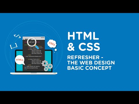 HTML And CSS Refresher  - The Web Design Basic Concept