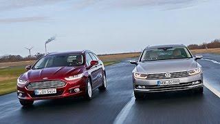 Ford Mondeo Turnier vs. VW Passat Variant