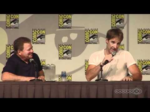 Star Trek: The Captains  Comiccon 2011 Panel