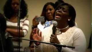 "Dayanna Griffin Sings ""Total Praise"" @ NCFJ COGIC Holy Convocation"