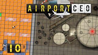 Airport CEO | Services und Mitarbeiterräume ► #10 Flughafen Bau Management Simulation deutsch german