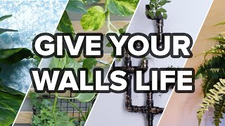 9 Ways To Give Your Walls Life