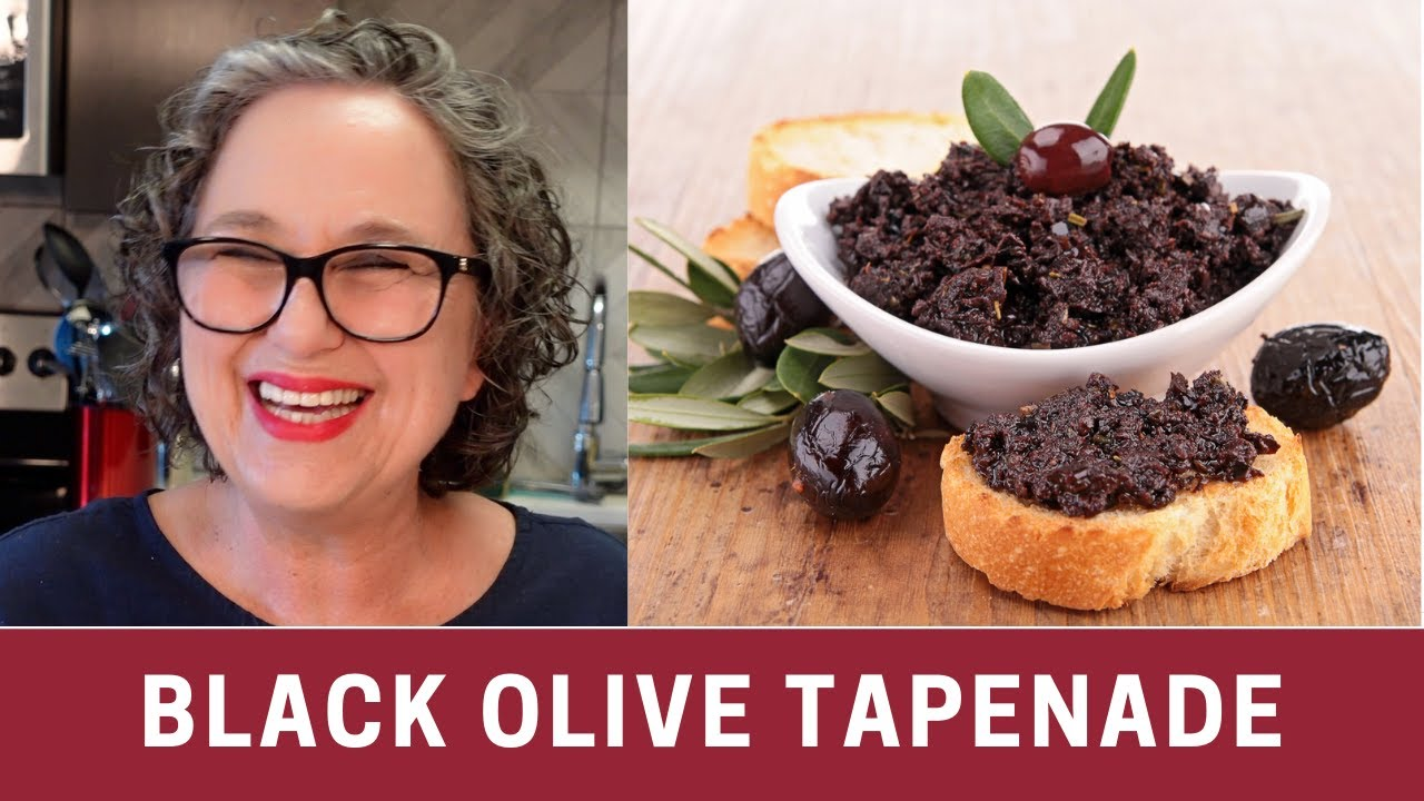 How to Make Black Olive Tapenade - YouTube