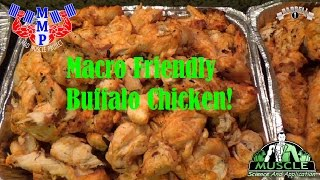 How to Make Buffalo Chicken Breasts Tender & Macro Friendly - MMP Episode 2