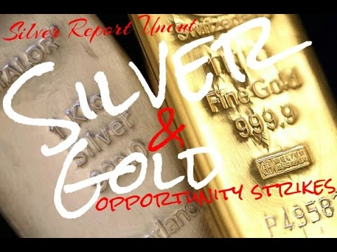 Silver & Gold Flashing Red! Some Opportunities Strike Only Once! Economic News