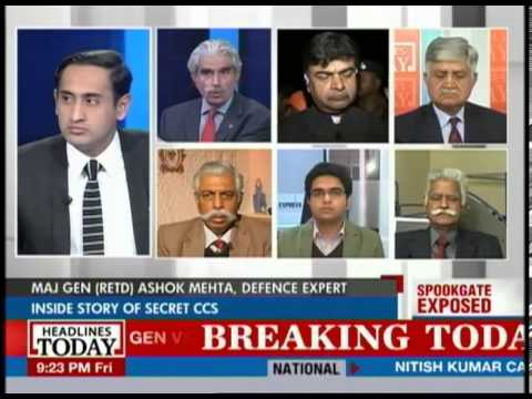 Centre Stage with Rahul Kanwal - 'Spookgate' Exposed!