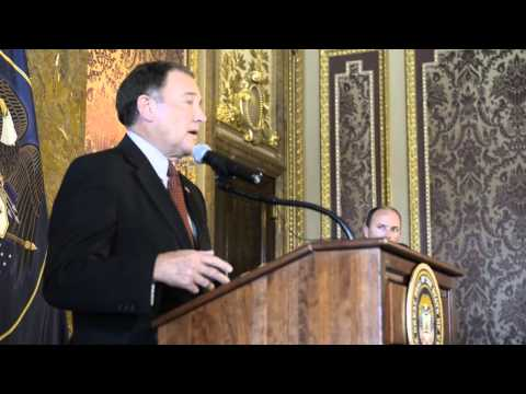 Gov. Gary Herbert on same-sex marriage ruling