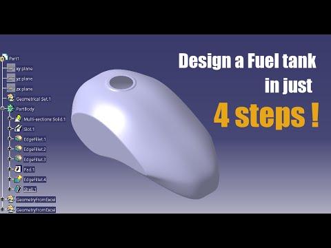 Bike Fuel tank