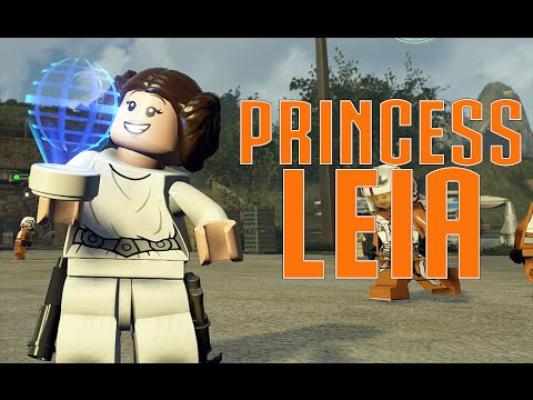 LEGO Star Wars The Force Awakens - Princess Leia (Classic) Carbonite ...