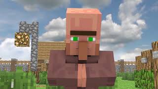 Miner Villager Life : Teacher's Childhood - Rusplaying Minecraft Animation