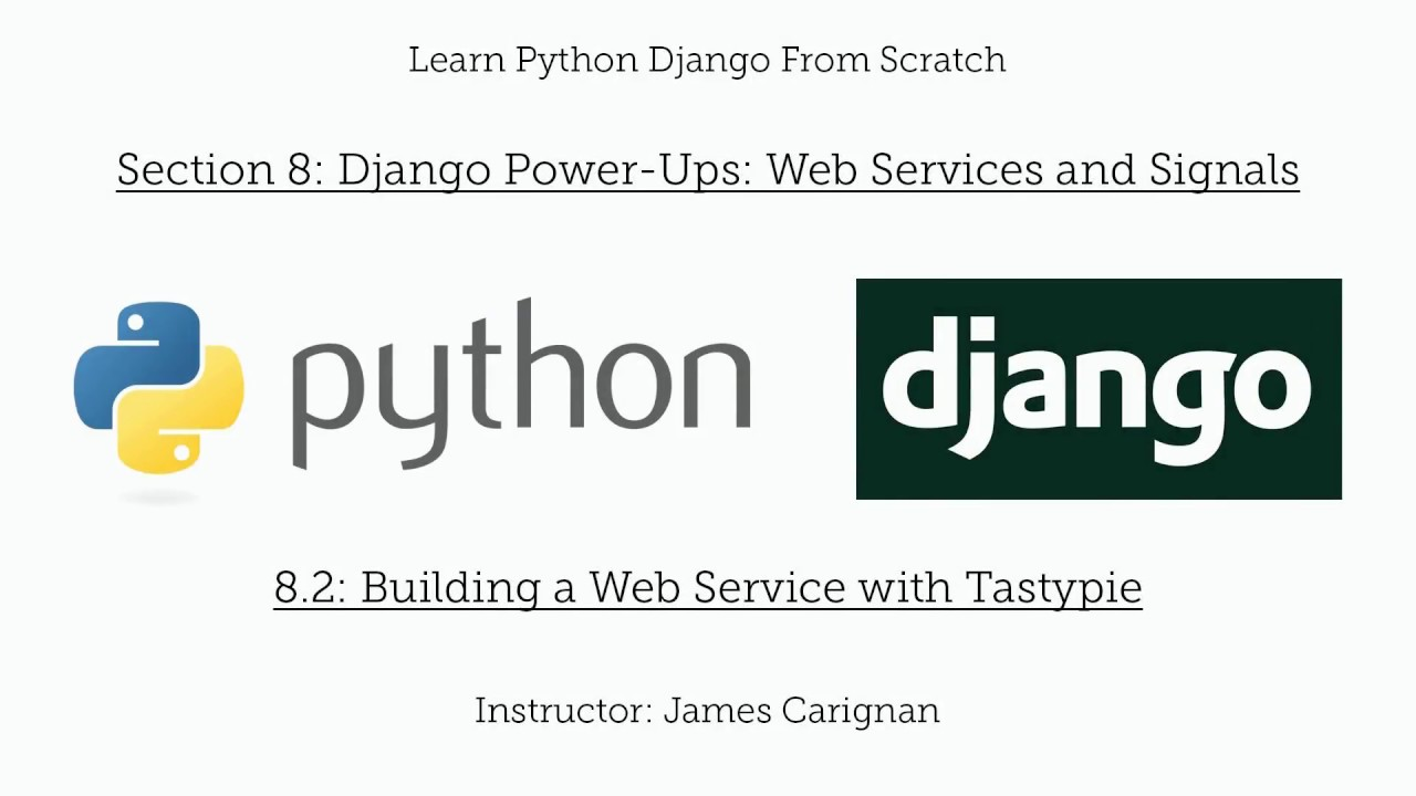 Learn Python Django From Scratch Course - Harley Oxford