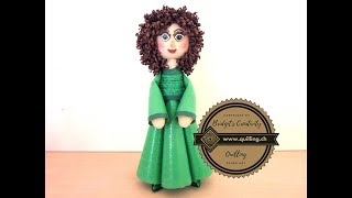 Bridgit's Quilling Dolls to Angels (Part 1) Tutorial