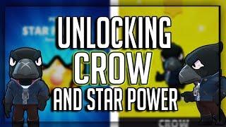 UNLOCKING CROW + Star Power! Luckiest Box Opening Ever?! Brawl Stars