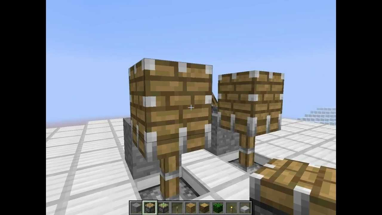 minecraft comment faire un piston cube tuto youtube. Black Bedroom Furniture Sets. Home Design Ideas