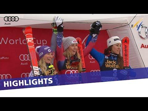 Eighth wonder of the season for Mikaela Shiffrin in Kranjska Gora GS | Highlights