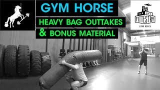Some funny outtakes and extra footage from the heavy bag carry attempts