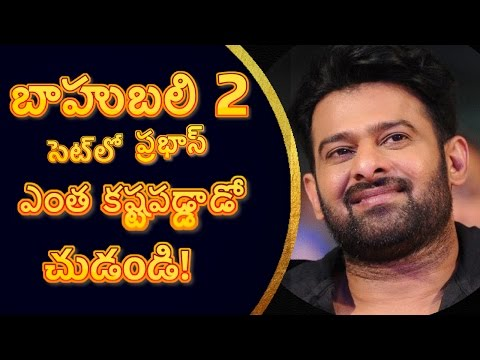 Thumbnail: Baahubali The conclusion making and interview of Prabhas II Bahubali 2 making