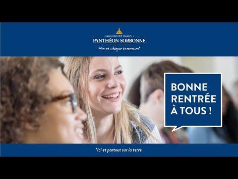 Bonne rentrée à l'université Paris 1 Panthéon-Sorbonne