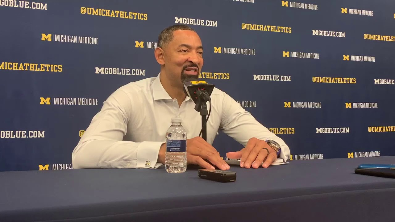 Juwan Howard reacts to loss at Illinois