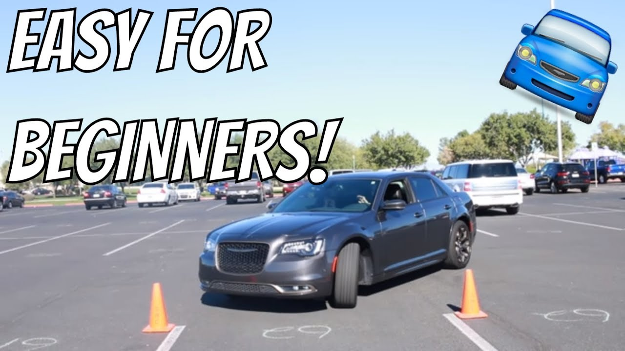 How To Park A Car In A Parking Space For Beginners Youtube