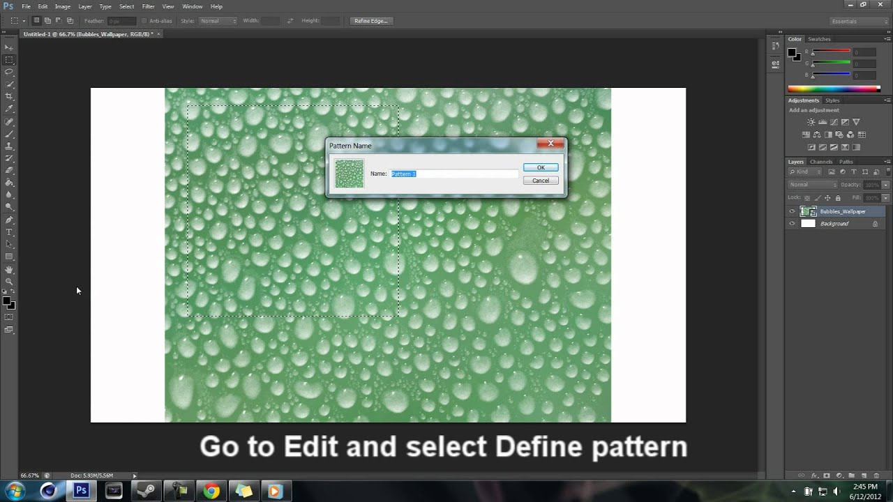 How To Add Pattern In Photoshop Custom Inspiration Design