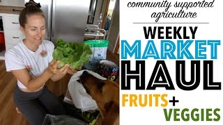 My Weekly Fruit and Veggie Haul [for a Gluten-Free + Vegan Kitchen]