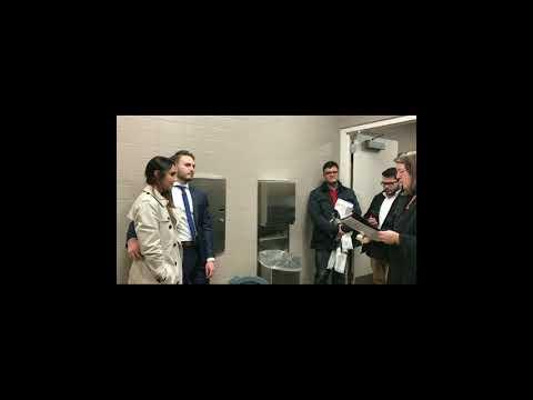 Monmouth County couple marries in courthouse bathroom