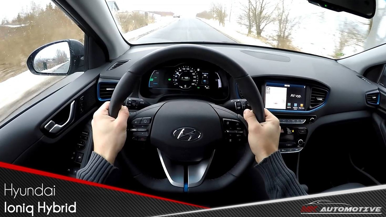 Hyundai Ioniq Hybrid Pov Test Drive Acceleration 0 160 Km H