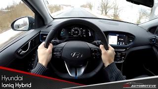 Hyundai Ioniq Hybrid POV Test Drive + Acceleration 0 - 160 km/h