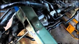 Subaru Outback 2011. Ремонт переда. Repair of the front.(, 2013-09-17T16:40:25.000Z)