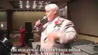 "LlVE PERFORMANCE: ""Miracle Worker"", Rance Allen sings for Apostle Henton, pt 1"