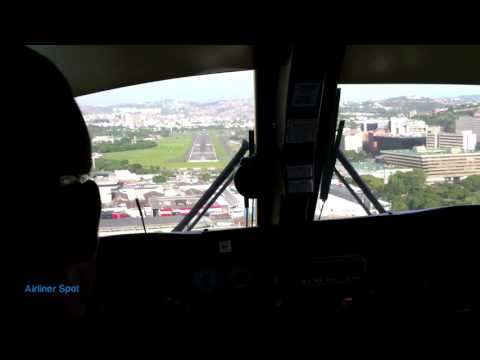 TURBO COMMANDER | LANDING | CARACAS CITY AIRPORT
