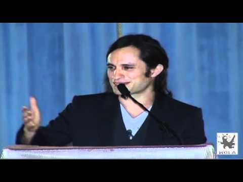 Gael García Bernal Speech at WOLA Human Rights Awards
