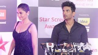Ankita Lokhande IGNORES & Takes Revenge on Ex-Boyfriend Sushant Singh Rajput @StarScreenAwards 2018