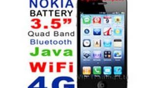 "Nokia BL-4CT battery WiFi 3.5"" LCD  iPhone 4 4G style Dual 2 SIM clone copy replica"